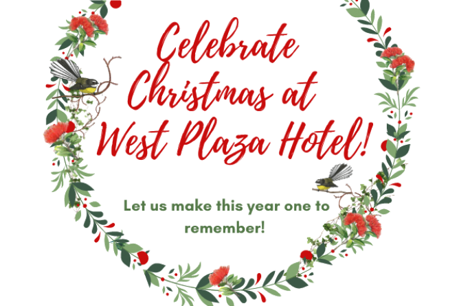 Celebrate Christmas at West Plaza Hotel
